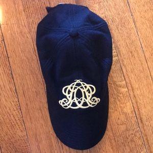 J. Crew wool monogram baseball hat